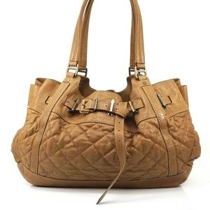 Auth Burberry Quilting Shoulder Bag #1973B63